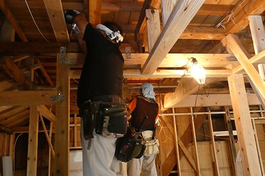 建具の建て付け調整